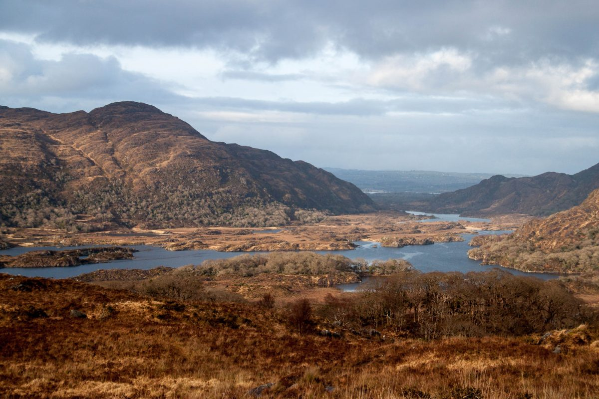 Beautiful landscape of Ireland. One of the most amazing places to elope in UK