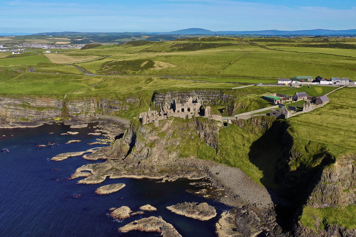 The Ireland coast. Ireland is famous for it's breathtaking scenarios, and it is a wonderful place to elope in UK