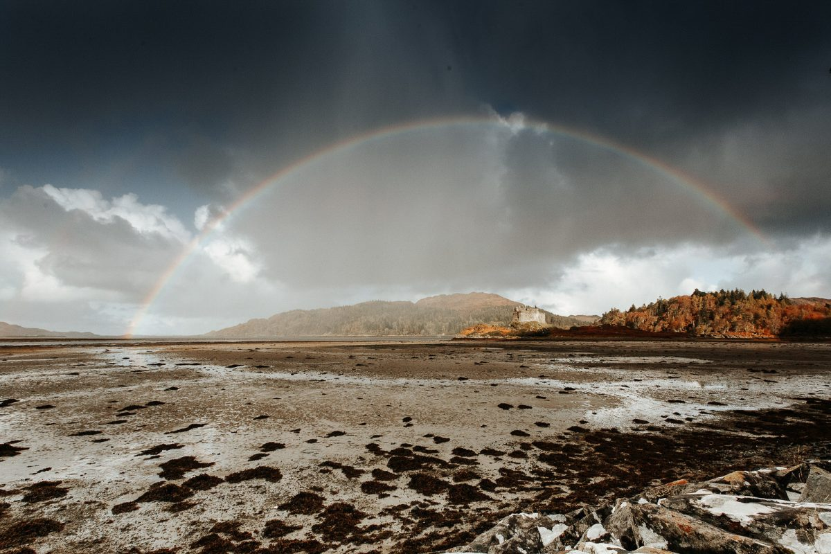 Showing Castle Tioram as location in Scotland for elopement wedding